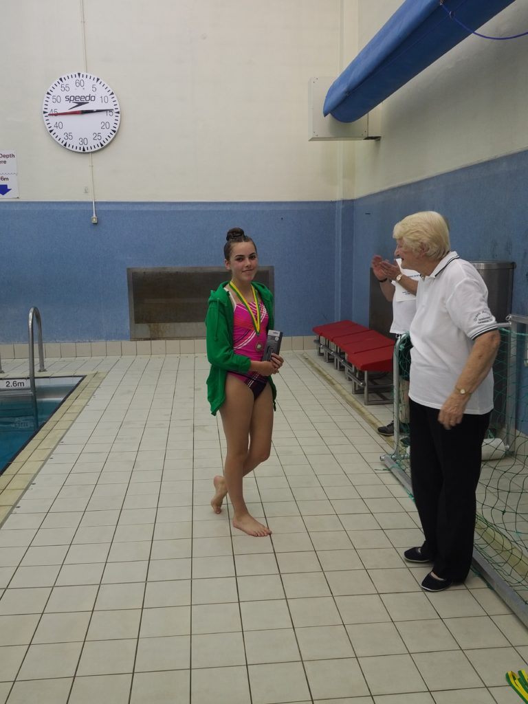 Gold for Evie!