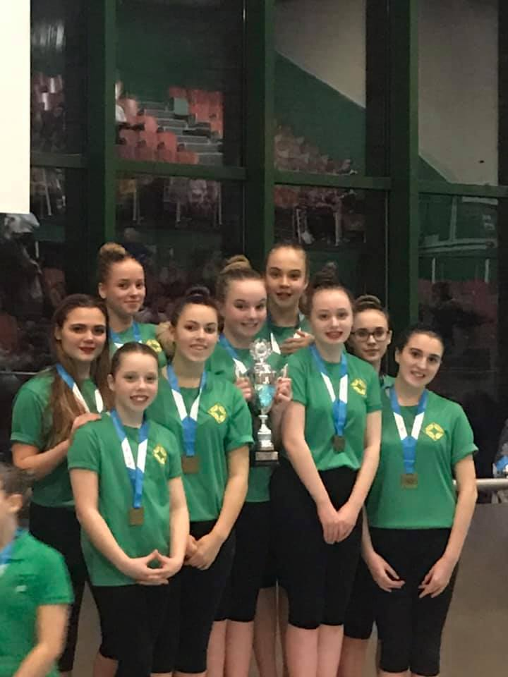 13-18 Team - Gold - Midlands Age Groups February 2020