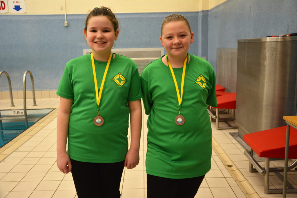 Bronze - Esmee and Ellie-Mae